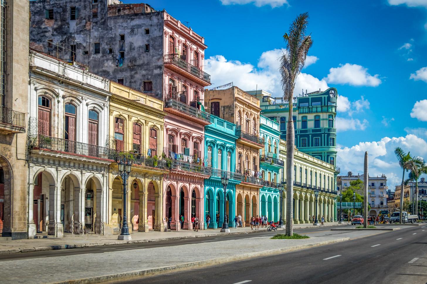 Oude binnenstad van Havana