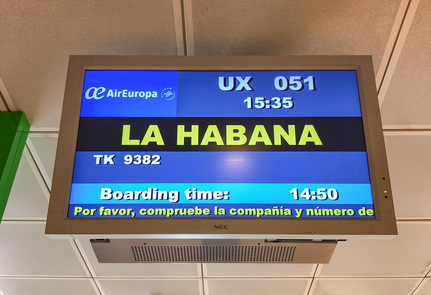 Reizen naar Cuba